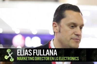 """""""Siempre que haya alternativas en sistemas operativos vamos a estar listos"""", Elías Fullana de LG"""
