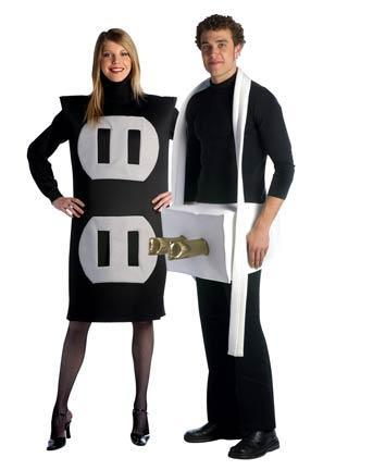 "Disfraz ""eléctrico"" para una pareja"
