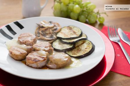 Solomillo con salsa de uvas - 1