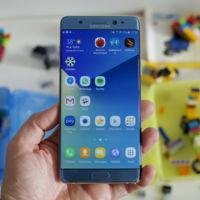 Samsung cambia de proveedor de baterías como consecuencia de los problemas del Note 7