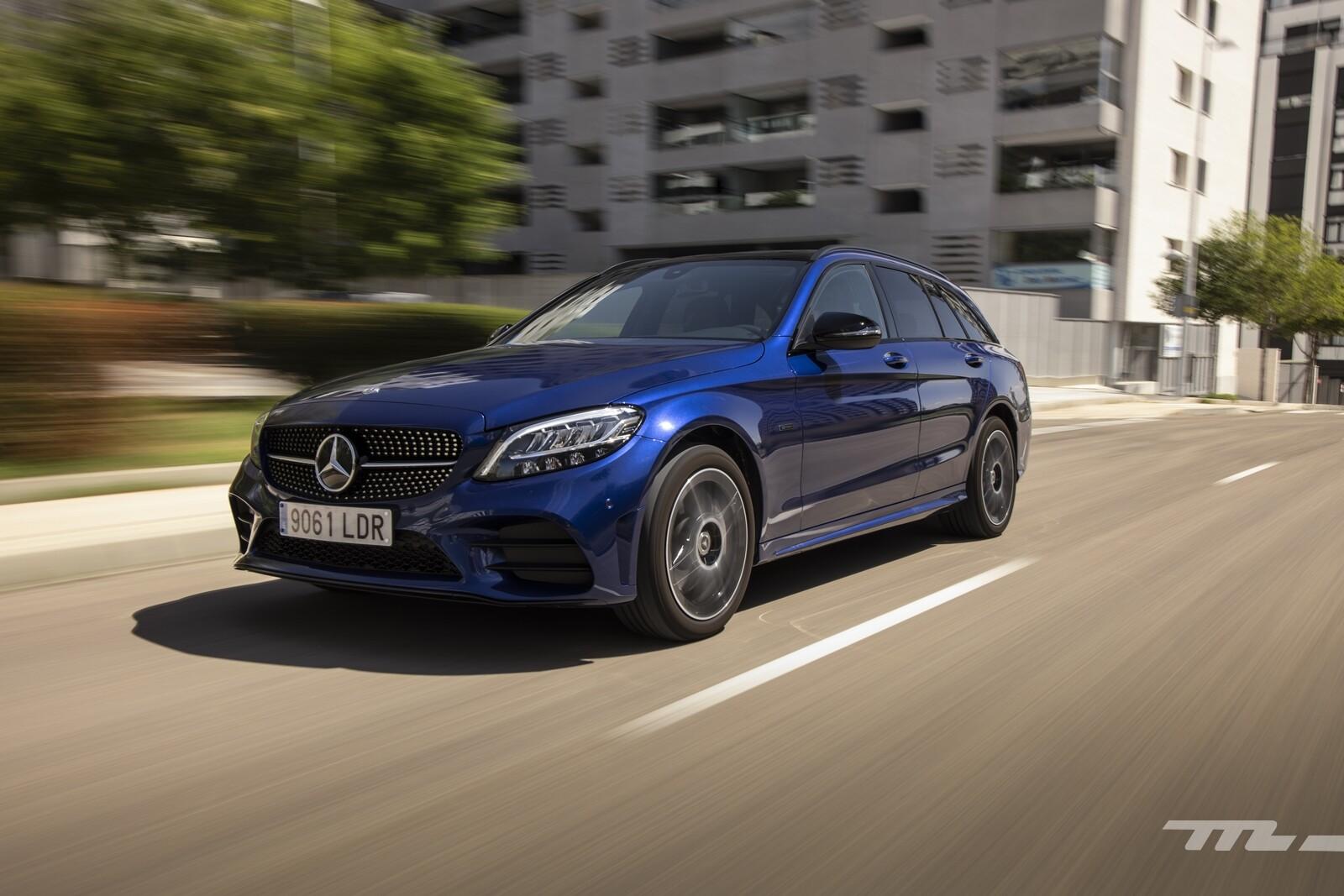 Foto de Mercedes-Benz C 300 de Estate 2020, prueba (22/46)