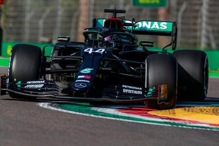 Hamilton Imola F1 2020 2
