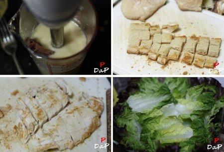 Cómo hacer una ensalada César