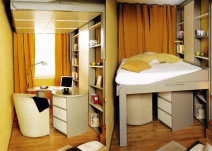 La cama en el techo: versión II
