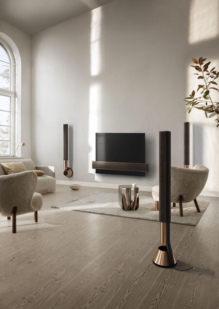 La última novedad de Bang & Olufsen son los altavoces Beolab 28 con los que vivir la experiencia del mejor sonido con un diseño mínimo