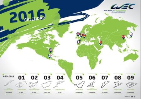 Calendario 2016 Wec