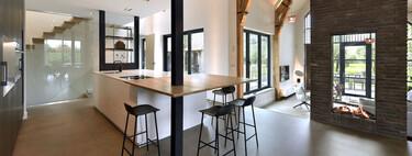 Puertas abiertas: un chalé rural de los Países Bajos con un refrescante aire contemporáneo