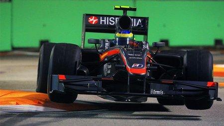 GP de Singapur de Fórmula 1: Difícil carrera y doble abandono para Hispania