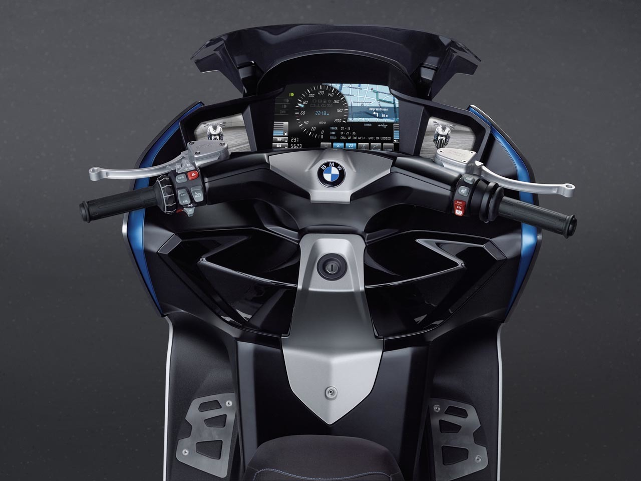 Foto de BMW Concept C Scooter, el Scooter del futuro según BMW (14/19)