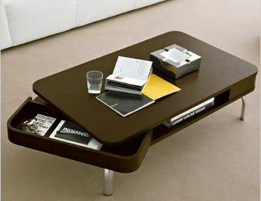 Retro, una mesa de café de Calligaris