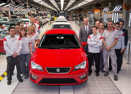 Fabricación de coches en España