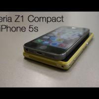 Sony Xperia Z1 Compact vs. iPhone 5S, comparativa (con vídeo)