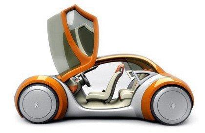 Galería de prototipos Peugeot
