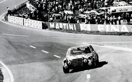 Mercedes 300 SEL AMG 24 horas de Spa 1971