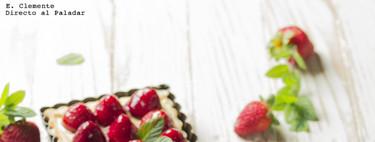Tarta de fresas con crema de vainilla: receta