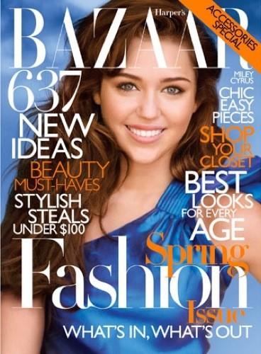 Miley Cyrus para Harper's Bazaar: el editorial bizarro del año