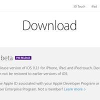 Apple libera la primera Beta de iOS 9.2.1 para los desarrolladores