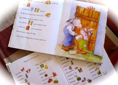 """Cuentos con pictogramas, sus primeras """"lecturas"""""""