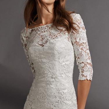 19 vestidos de novia cortos para dar el sí quiero con un look diferente