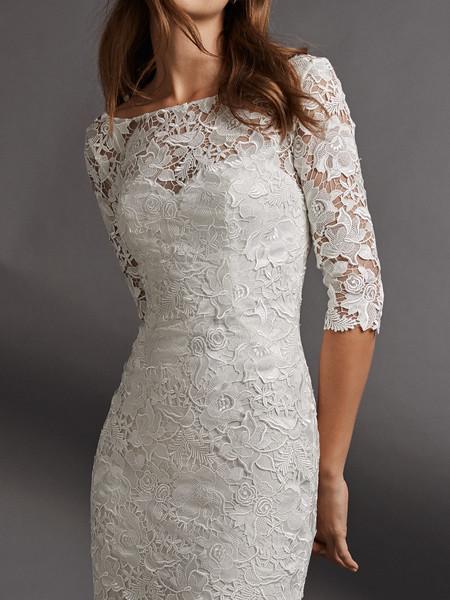 c4354aa21 19 vestidos de novia cortos para dar el sí quiero con un look diferente