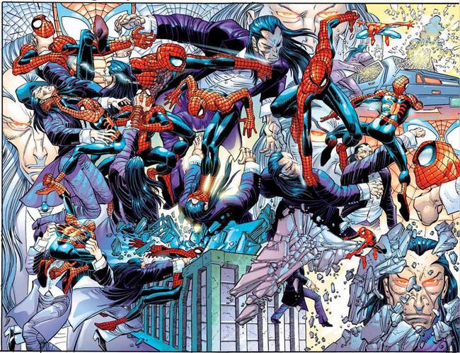 Spiderman Vs Morlun Cosas Felices
