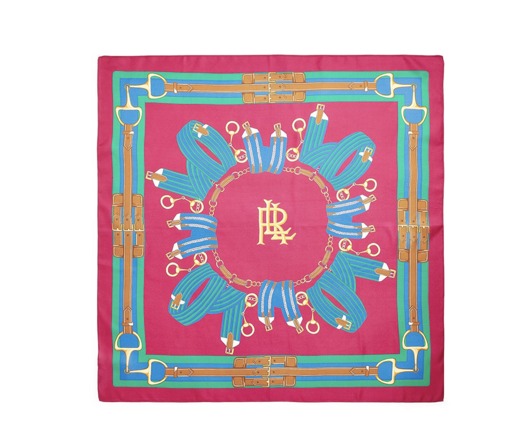 Pañuelo de mujer de seda fucsia
