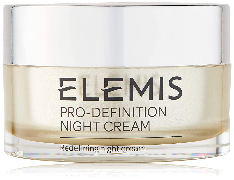 ELEMIS Skin Pro-Definition Night Cream, crema de noche reafirmante con efecto lifting