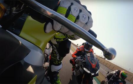 ¡A disfrutar! Así fue el pique en Misano con la Aprilia RS 660 entre Aleix Espargaró, Lorenzo Savadori y Bradley Smith