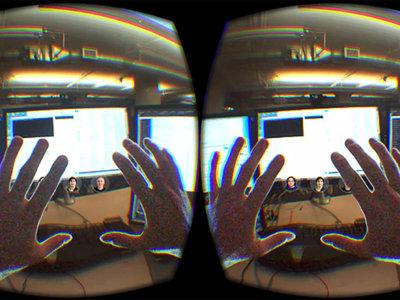 Así sería nuestro escritorio dentro de una realidad virtual en la que nuestro entorno está presente