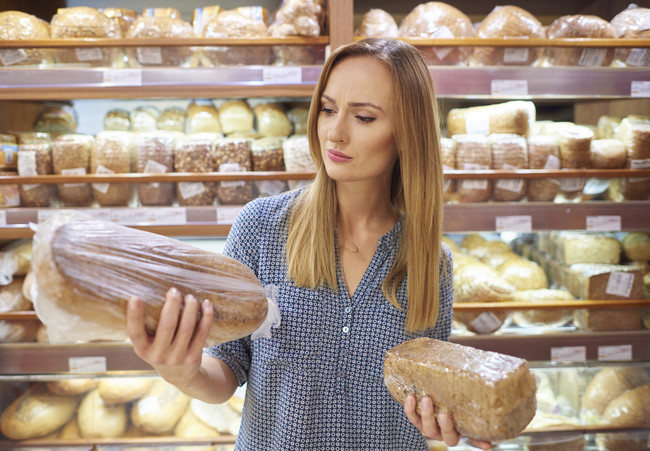Las calorías y nutrientes de los diferentes panes industriales