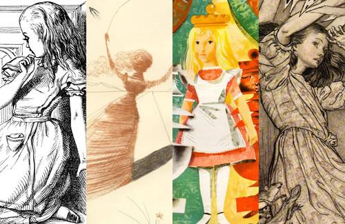 150 años dibujando a Alicia en el país de las maravillas