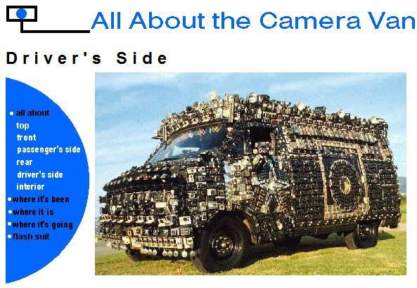 Camera Van, by Harrod Blank