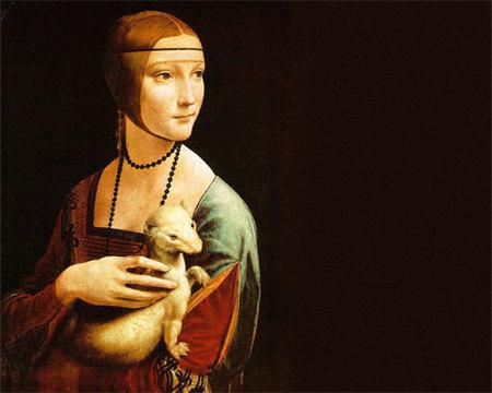 Mujer con armiño de Leonardo