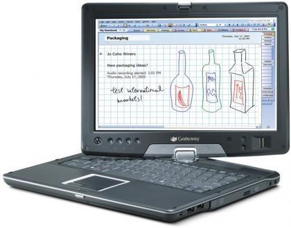 Gateway E-155C, un Tablet PC muy interesante