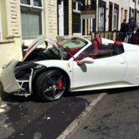 Cuando tu día más feliz se vuelve un Dolorpasión™, estrellando un Ferrari 458 Spider