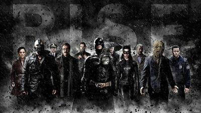 'El Caballero Oscuro: La Leyenda Renace', la película