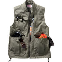 Filson Travel Vest, chaleco de 20 bolsillos para viajar cómodo
