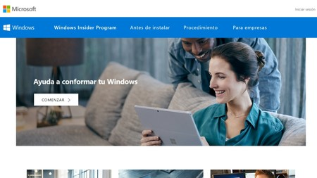 Pagina De Windows Insider