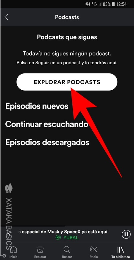Explorar Podcast