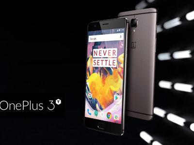 Smartphone OnePlus 3T, con 6GB de RAM y Snapdragon 821, con 54 euros de descuento