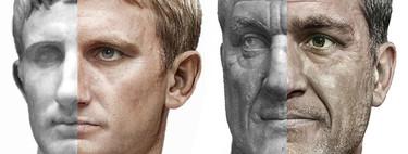 Estos retratos fotorrealistas de emperadores romanos han sido creados a partir de referencias históricas usando una red neuronal