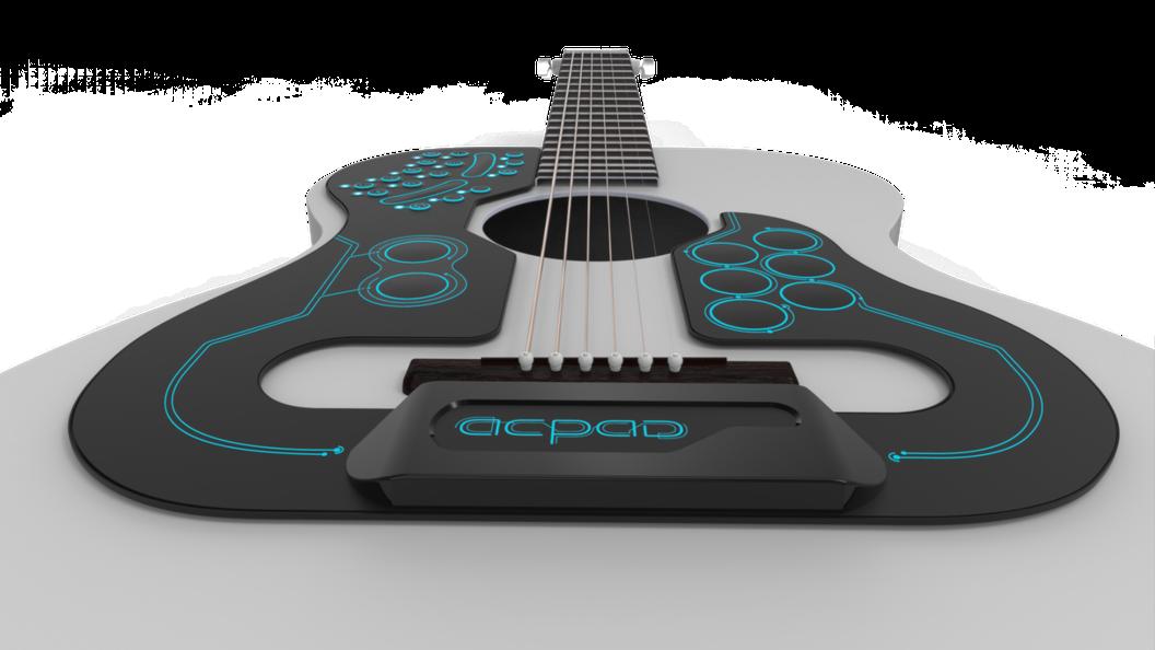 Este controlador MIDI pone al alcance de tus dedos una orquesta dentro de tu guitarra