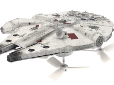 Las batallas espaciales de 'Star Wars' cobran vida con estos impresionantes drones