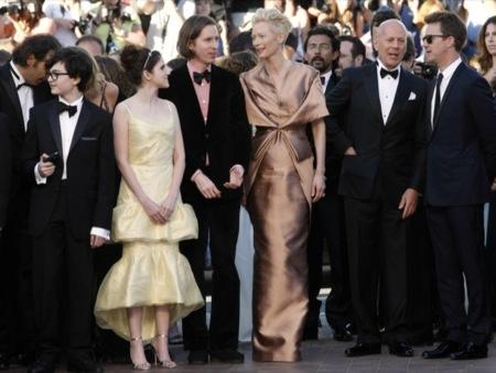 Tilda Swinton Festival de Cine de Cannes 2012 Día 1
