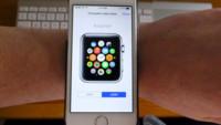 Pruébate el Apple Watch en tu muñeca con la app de la Apple Store