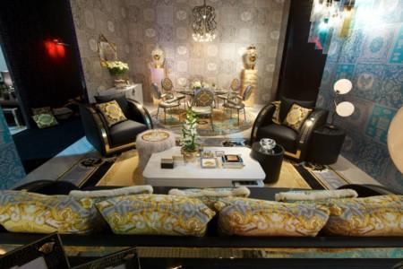 Versace viste de lujo tu hogar con su nueva colección Home