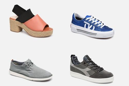 Descuentos de hasta el 70% en Sarenza, con zapatillas y zapatos Timberland, Geox o Vans por 30 euros o menos en el Cyber Monday 2020