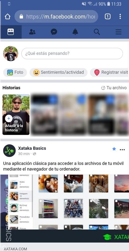 Webapp Facebook
