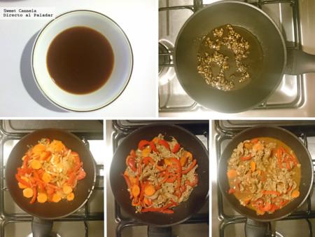 Preparacion Filete De Res A La Oriental