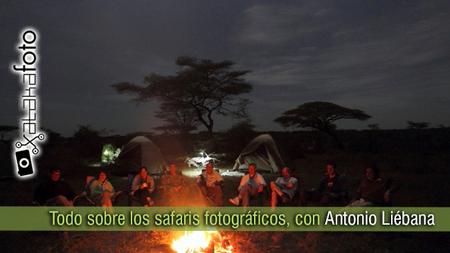 Todo sobre los safaris fotográficos, con Antonio Liébana